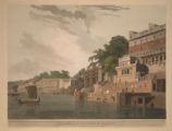 Dusasumade Gaut, at Bernares, on the Ganges.