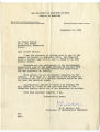 Moses Barron Papers. Correspondence: Research, 1934-1978. (Box 1, Folder 2)