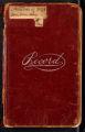Clara Barton Diary: January 1 - June 2, 1899