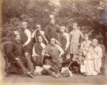 A family group of Parsis, Bombay