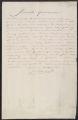 Receipt, N. Bucaille