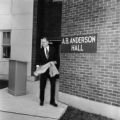 A.B. Anderson Hall dedication