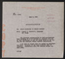 Activities, 1944-1963. Research and Publications. Aid to Dependent Children - Studies. Future Citizens All - Project Proposal. Correspondence with State Agencies. (Box 32, Folder 4)