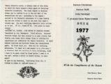 1977 Shaw Christmas Card