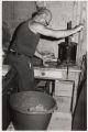 Andy Licari making sausage