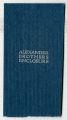 Alexander Brothers mailing enclosure slip