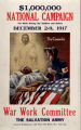 $1,000,000 national campaign for work among our soldiers and sailors : Dec. 2-9, 1917 : War Work Committee : the Sal