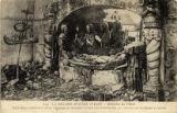 224. La Grande Guerre 1914-17 -- Bataille de l'Yser : Sacrilege allemand dans l'Eglise de Ramscapelle bombaree, le C