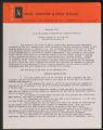Activities, 1944-1963. Newburgh Plan. Correspondence. (Box 31, Folder 10)