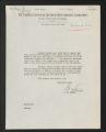 Correspondence, 1934-1961. (Box 1, Folder 14)