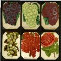 Grapes, Currants & Gooseberries Plate Book