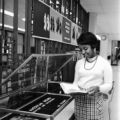 African American History Week, UMD Library display and student