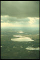 Aerial view of Minnesota lake country