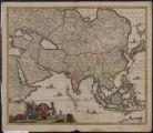 Accuratissima totius Asiae tabula : in omnes partes divisa, de nova correcta, ac in lucem edita