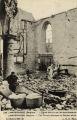 228. Lampernisse (Belgique) -- l'Eglise detruite par les obus allemands