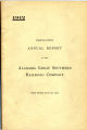 Alabama Great Southern Railroad Company, Annual Report, 1912