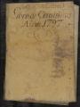 Mercantile Records, 1782-1832. Account Books, 1782-1806. De Lcdo. José Vidal Libro de Comisiones Año de 1797.