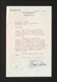 Correspondence: Howell, David, 1950-1960. (Box 2, Folder 5)