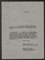 Related Organizations, 1925-1949. Inter-Community Child Study Committee. Committee Correspondence. Correspondence. (Box 40, Folder 424)