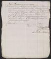 Receipt, Marceille sugar sold at Amsterdam