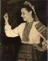 Member of Ukrainian Twin Cities Folk Ballet in folk costume