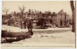 20 Courteaux pres Chateau-Thierry (Aisne) -- ruines du village apres le bombardement allemand (photo 1918) M.D.