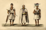 A Dufflah, A Dufflah Chief's Widow, A Dufflah Chief.