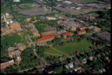 Aerial view, St. Paul Campus, from the west