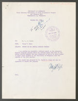 A Report Concerning the Special Intensive English Language and Orientation Program Given at the University of Minnesota for Twenty-Two Koreans Faculty Members of Seoul National University and Republic of Korea Government Officials by Harold B. Allen, 1958 (Box 65, Folder 18)