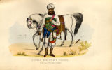 A Seyed Mercenary Soldier; In the pay of the Rao of Cutch.
