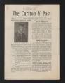 The Carlton Y Post, December 6, 1929. (Box 97, Folder 8)