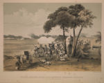 Trying Position of the Naval Guns, and Greene's Battery, on the 27th November, 1857