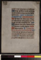 Manuscript 26: Leaf from Book of Hours