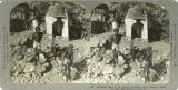 Bringing food to the sacred monkeys, near Jeypore
