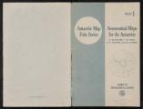 Aeronomical Maps for the Antarctic; Folio 1, Antarctic Map Folio Series