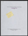 Office for Minority and Special Student Affairs (OMSSA). (Box 75, Folder 21)