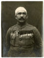 Decorated, wounded soldier