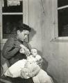 Boy and Infant: World War II :Lost Children