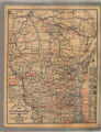 Rand McNally official 1922 auto trails map, district no. 8 : Wisconsin, northern Ill., northern Mich.