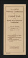Conferences. National Conference Materials, 1871-1946. (Box 4, Folder 12)