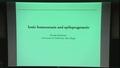Ionic homeostasis and epileptogenesis