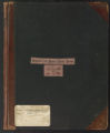 Outgoing survey correspondence (Box 1, Volume 1)