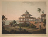 The Chalees Satoon in the Fort of Allahabad on the River Jumna