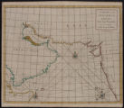 A chart of the east Indian Ocean : from Cape Guardefoy to Cochin on the coast of Malabar.