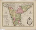 Carte des coôtes de Malabar et de Coromandel