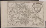 Carte De L'Inde en deçaè du Gange comprenant l'Indoustan &c : Suivant les Cartes les plus recentes : Conciliees avec les Relations et les Deátails Geáographiques insereás dans l'Histoire Geáneárale des Voyages
