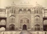 A Gate of Amber Palace