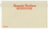 Alexander Brothers shipping label
