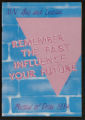 MN Gay and Lesbian: Remember the Past Influence Your Future. Festival of Pride 1984