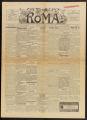 Roma, Volume 18, Number 1018